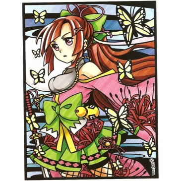 coloriage manga