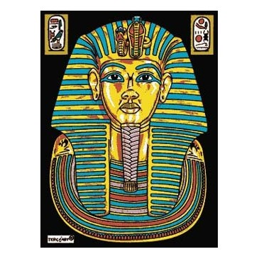 Coloriage En Velours pharaon