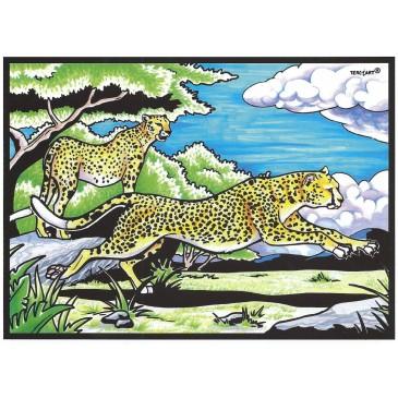 Coloriage leopard