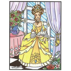 COLORIAGE MARQUISE