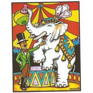 LE CIRQUE ET LES ELEPHANTS